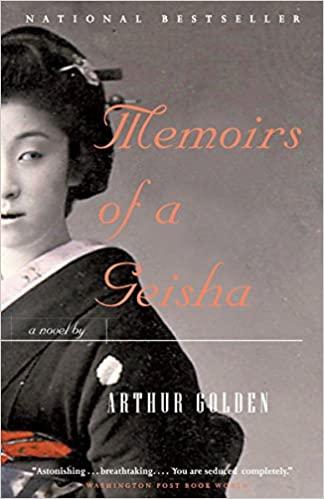 Book Club - Memoirs of a Geisha by Arthur Golden